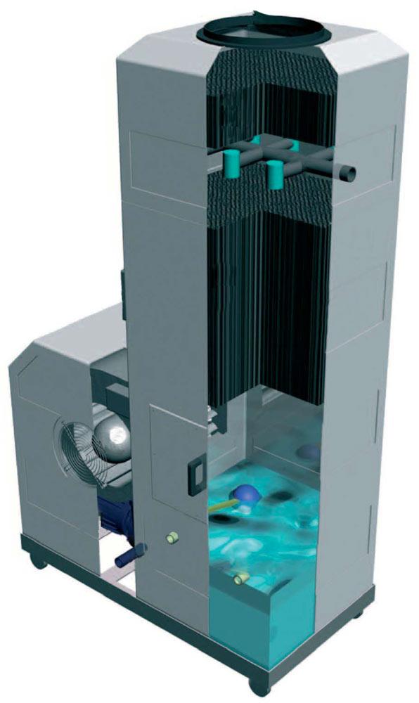 Economax | Economizzatore Refrigeratore Gelaterie Circuito Chiuso Acqua Torre